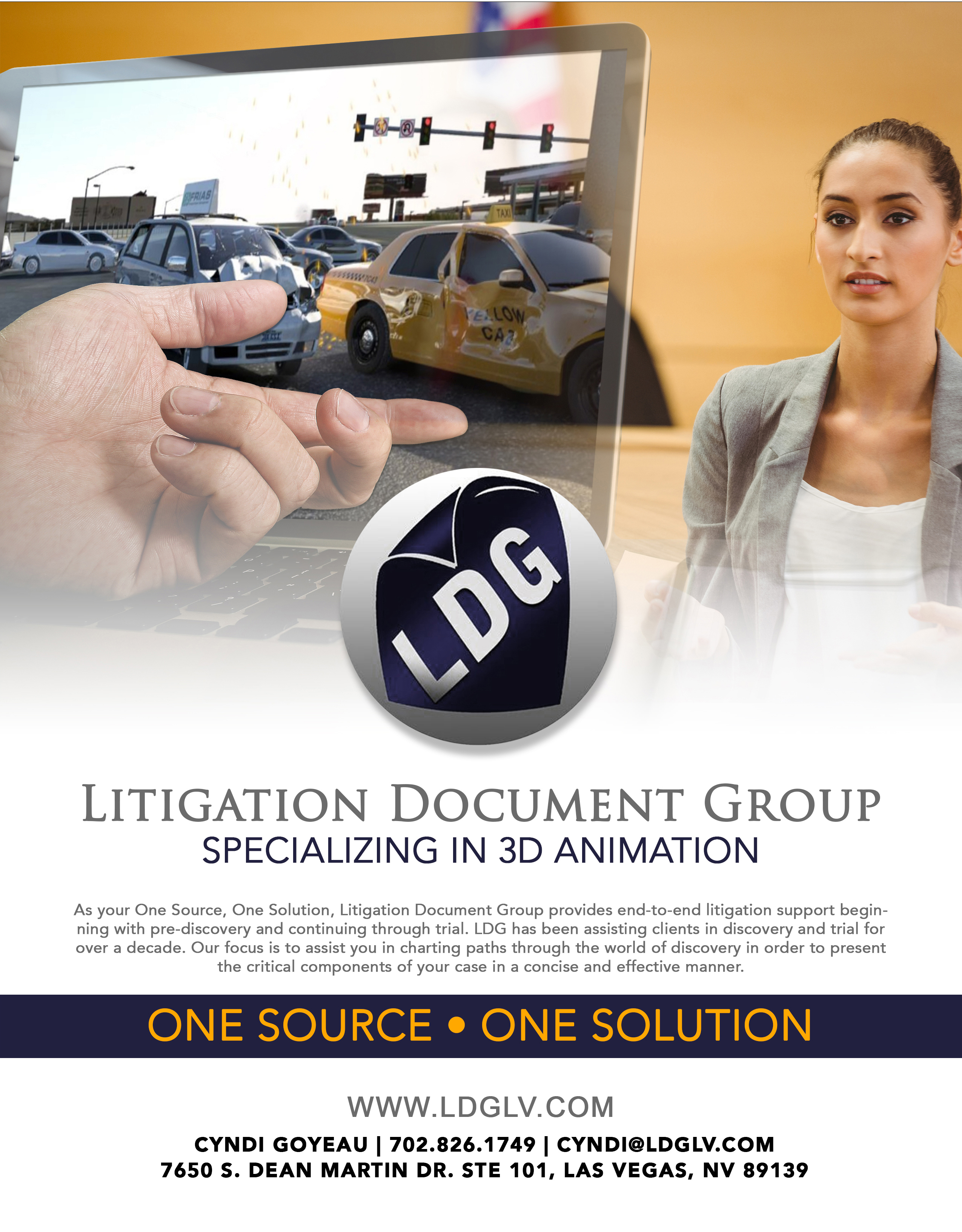 3D Animation - Litigation Document Group