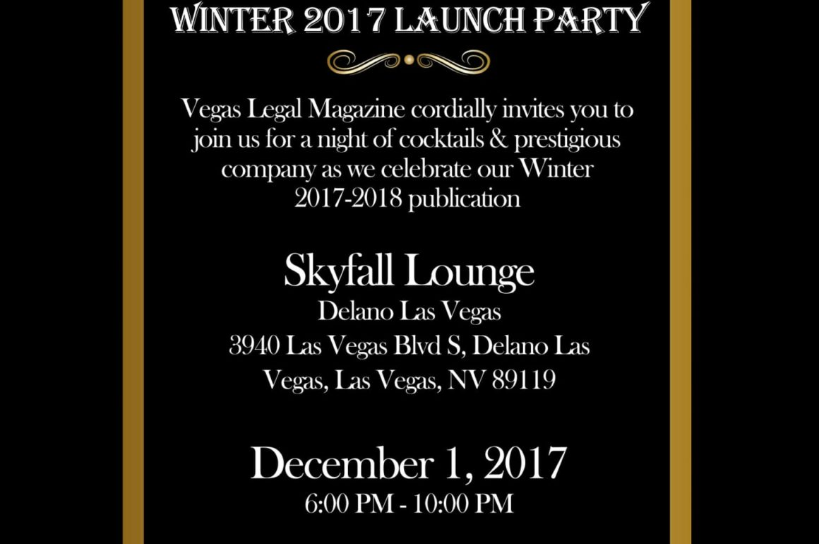 Winter '17-'18 Launch Party Invitation