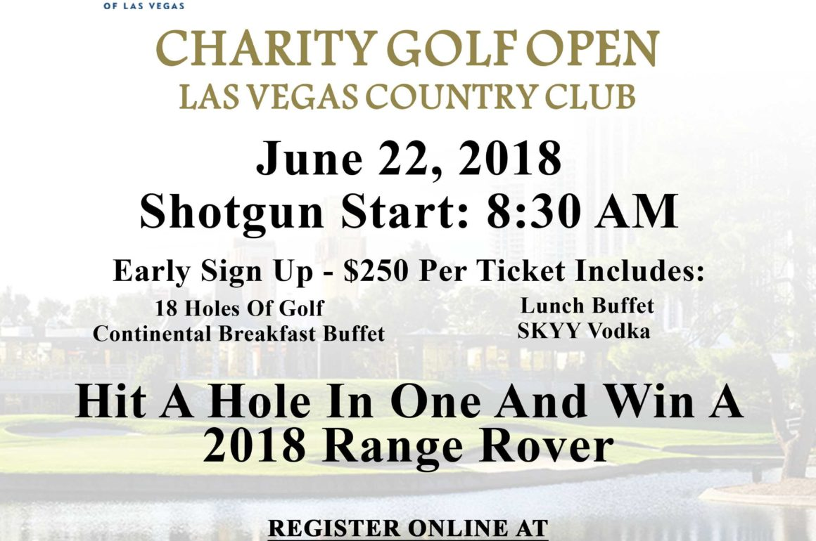 2018 Charity Golf Open