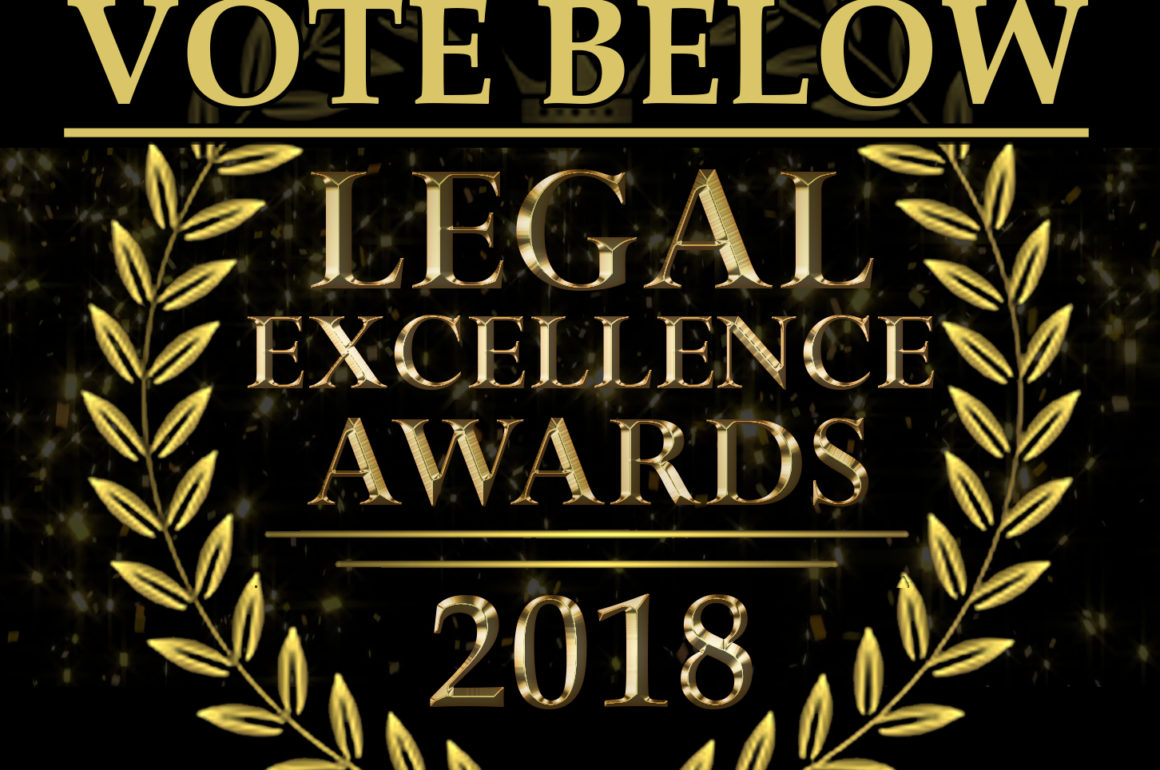 2018 Legal Excellence Awards – Voting