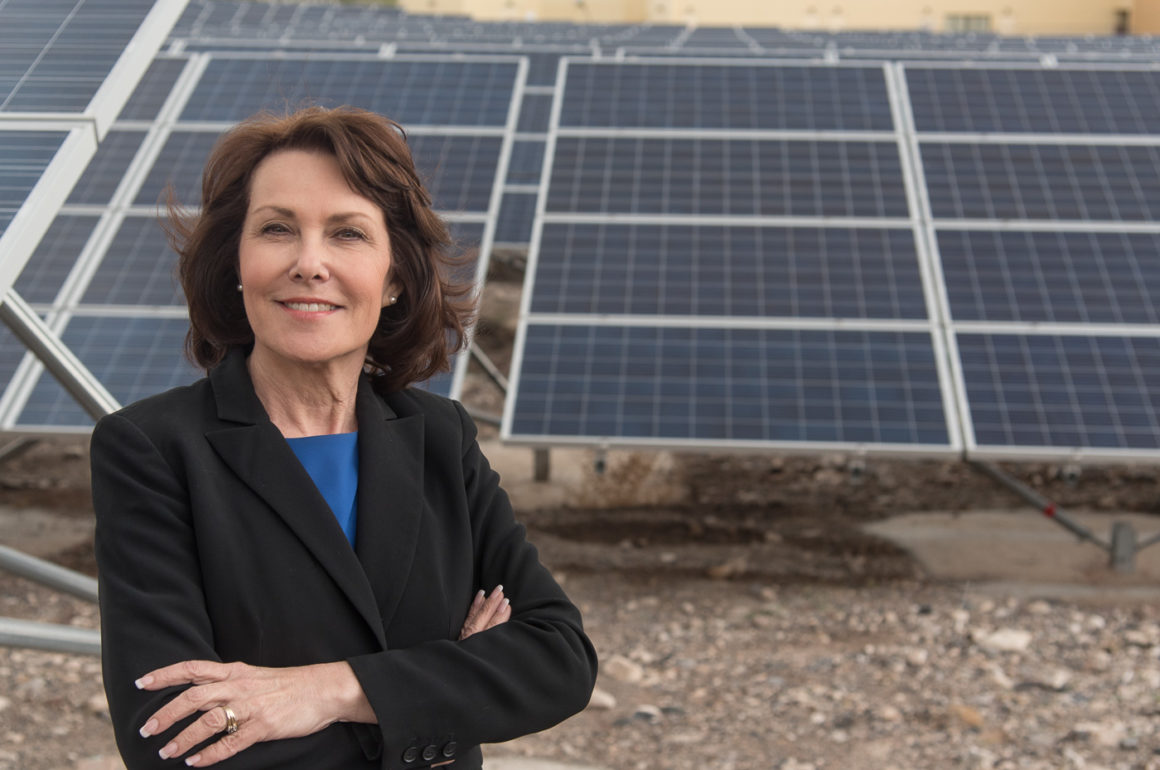 Congressional Newcomer Jacky Rosen Hopes TO Unseat Nevada's Senator Heller